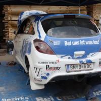 Schneebergland Rallye 2013 Doberer Opel Corsa OPC Bezirksblätter Service