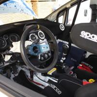 Schneebergland Rallye 2013 Doberer Opel Corsa OPC Innenraum Service