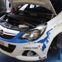 Schneebergland Rallye 2013 Doberer Opel Corsa OPC Motor Service