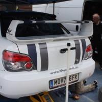 Schneebergland Rallye 2013 Stohl Racing Subaru Impreza WRX STI Rudi Stohl