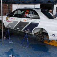 Schneebergland Rallye 2013 Stohl Racing Subaru Impreza WRX STI Rudi Stohl Service