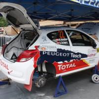 Schneebergland Rallye 2013 Alois Handler Peugeot 207 RC Autohaus Tasch Service