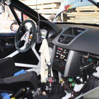 Schneebergland Rallye 2013 Alois Handler Peugeot 207 RC Autohaus Tasch Innenraum