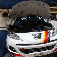 Schneebergland Rallye 2013 Alois Handler Peugeot 207 RC Motor Service