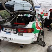 Schneebergland Rallye 2013 Toyota Celica 4WD Weingartner Pospischil Service