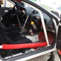 Schneebergland Rallye 2013 Toyota Celica 4WD Weingartner Pospischil Innenraum