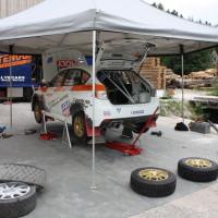Schneebergland Rallye 2013 Walter Mayer Subaru Impreza WRX R4 Service