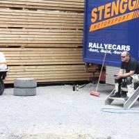 Schneebergland Rallye 2013 Willi Stengg Service