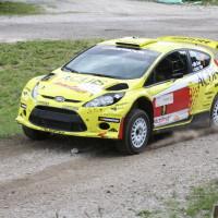 Schneebergland Rallye 2013 Ford Fiesta S2000 Olle Szasz SP 9