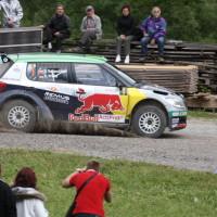 Schneebergland Rallye 2013 Raimund Baumschlager Skoda Fabia Red Bull