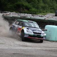Schneebergland Rallye 2013 Raimund Baumschlager Skoda Fabia Red Bull Racing