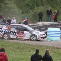 Schneebergland Rallye 2013 Beppo Harrach Mitsubishi Lancer EVO IX
