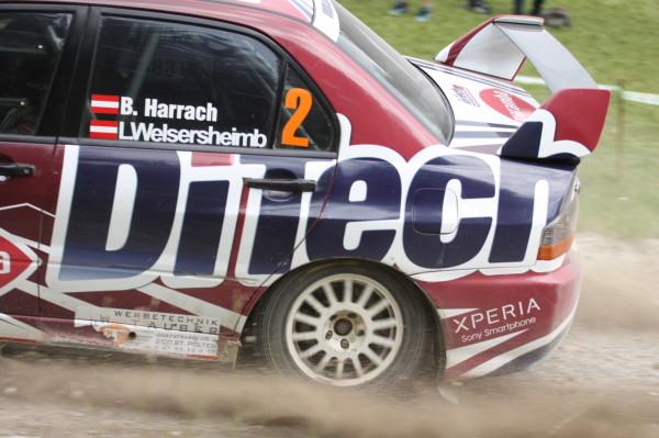 Schneebergland Rallye 2013 Sonderprüfung 9 Rundkurs Bieglhof Harrach DiTech Racing