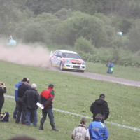 Schneebergland Rallye 2013 Mitsubishi Lancer Evo 9 Gerwald Grössing