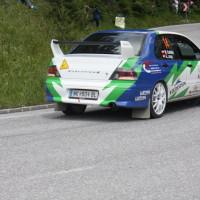 Schneebergland Rallye 2013 Martin Kalteis Mitsubishi Lancer Evo VII
