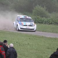 Schneebergland Rallye 2013 VW Polo Kris Rosenberger anbremsen