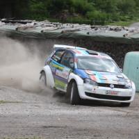 Schneebergland Rallye 2013 VW Polo Kris Rosenberger Drift