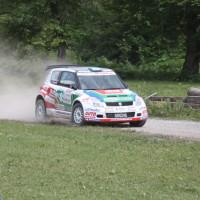 Schneebergland Rallye 2013 MIchael Böhm Suzuki Swift technischer Defekt