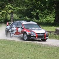 Schneebergland Rallye 2013 Mitsubishi Lancer Evo Staub