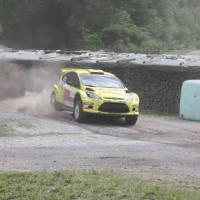 Schneebergland Rallye 2013 Ford Fiesta S2000 Olle Szasz Staub