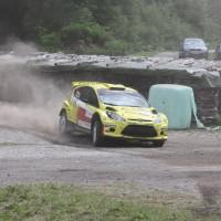 Schneebergland Rallye 2013 Ford Fiesta S2000 Olle Szasz Drift