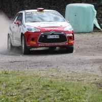Schneebergland Rallye 2013 Citroen DS3 R3T Ebner raus beschleunigen