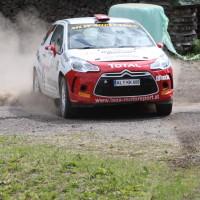 Schneebergland Rallye 2013 Citroen DS3 R3T Ebner Staub