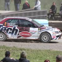 Schneebergland Rallye 2013 Beppo Harrach Mitsubishi Lancer EVO IX DiTech Racing Drift