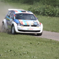 Schneebergland Rallye 2013 VW Polo Kris Rosenberger Staub