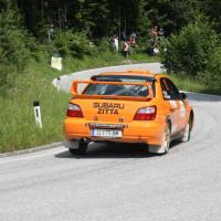 Schneebergland Rallye 2013 Zitta Grünsteidl Subaru Impreza