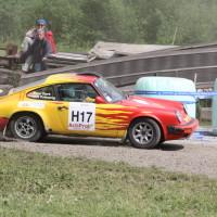 Schneebergland Rallye 2013 Porsche 911 SC Willi Polesznig driften