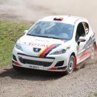 Schneebergland Rallye 2013 Alois Handler Peugeot 207 RC Schotter