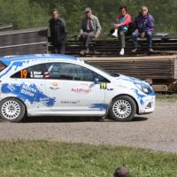 Schneebergland Rallye 2013 Wolfram Doberer Opel Corsa OPC Bezirksblätter