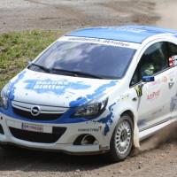 Schneebergland Rallye 2013 Opel Corsa OPC Doberer Schotter