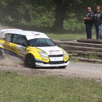 Schneebergland Rallye 2013 Suzuki Swift S1600 Dr. Attila Varg SP 9 Rundkurs