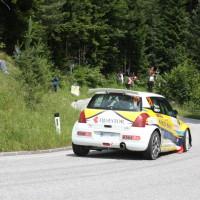 Schneebergland Rallye 2013 Suzuki Swift S1600 Dr. Varga