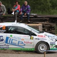 Schneebergland Rallye 2013 Opel Corsa OPC Wollinger Schotter