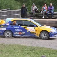 Schneebergland Rallye 2013 Dr. Marius Klein Gassner Motorsport Mitsubishi Lancer Evo VI