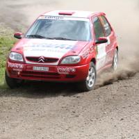 Schneebergland Rallye 2013 Citroen Saxo VTS Zoltan Hetei Drift