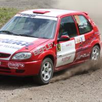 Schneebergland Rallye 2013 Citroen Saxo VTS Zoltan Hetei Schotter