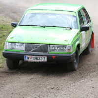 Schneebergland Rallye 2013 Volvo 944 Schenk SP 9 Rundkurs Bieglhof
