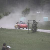 Schneebergland Rallye 2013 Porsche 911 SC Willi Polesznig Staub Schikane