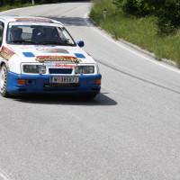 Schneebergland Rallye 2013 Kurt Göttlicher Ford Sierra Cosworth