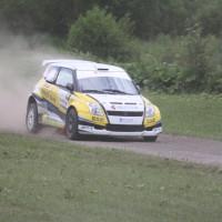 Schneebergland Rallye 2013 Klemens Haingartner Suzuki Swift Rundkurs