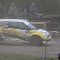 Schneebergland Rallye 2013 Klemens Haingartner Suzuki Swift Staub Kurve