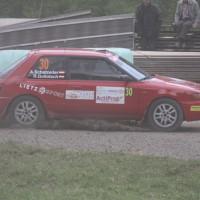 Schneebergland Rallye 2013 Anton Schatzeder Mazda 323 GT T Drift