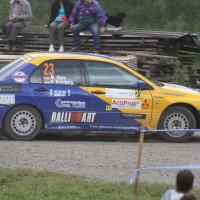 Schneebergland Rallye 2013 Dr. Marius Klein Gassner Motorsport Mitsubishi Lancer Evo 7