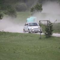 Schneebergland Rallye 2013 Kurt Adam Opel Kadett Gerlinde Krenn Sonderprüfung 9