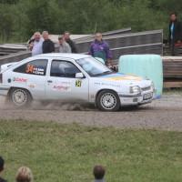 Schneebergland Rallye 2013 Kurt Adam Opel Kadett Gerlinde Krenn Rundkurs Bieglhof