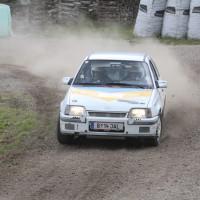 Schneebergland Rallye 2013 Kurt Adam Opel Kadett Gerlinde Krenn Staub Drift
